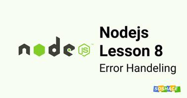 Node.js Lesson 8: Inheritance from Errors, Error
