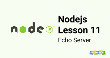 Node.js Lesson 11: Echo Server