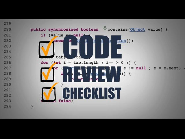 codereview-checklist