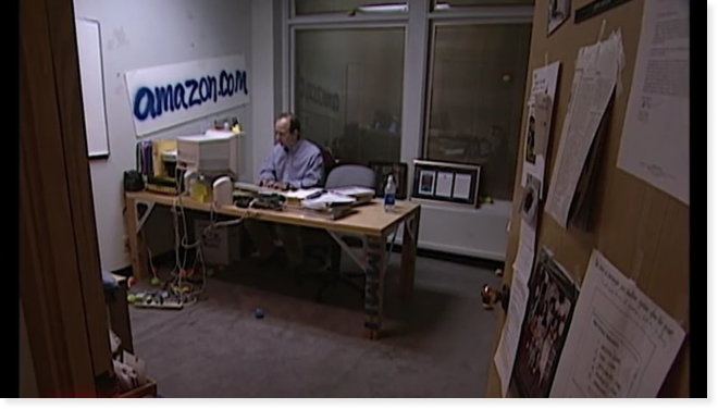 Amazon's first office. Retrieved from GraphiteDigital