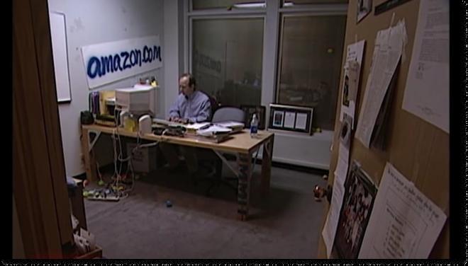 Amazon's first office. Retrieved from GraphiteDigital