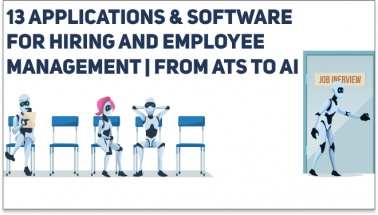 13 Best Applications and Software for Hiring and Employee Management