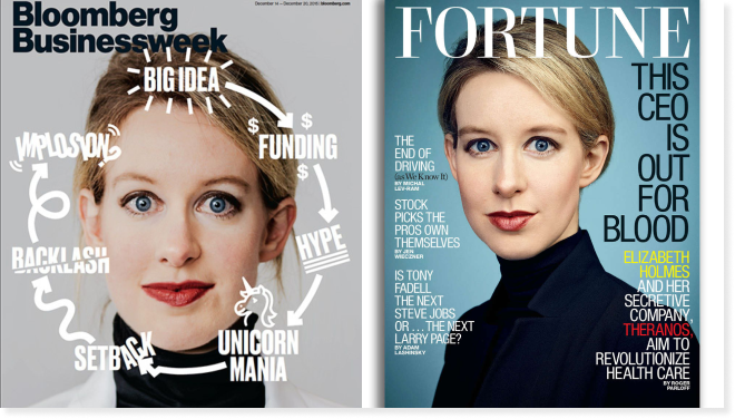 Covers with Elizabeth for Bloomberg and Fortune