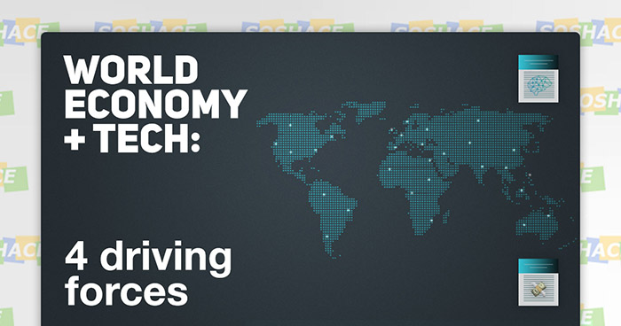 4 Tech Factors Driving the World Economy of Tomorrow