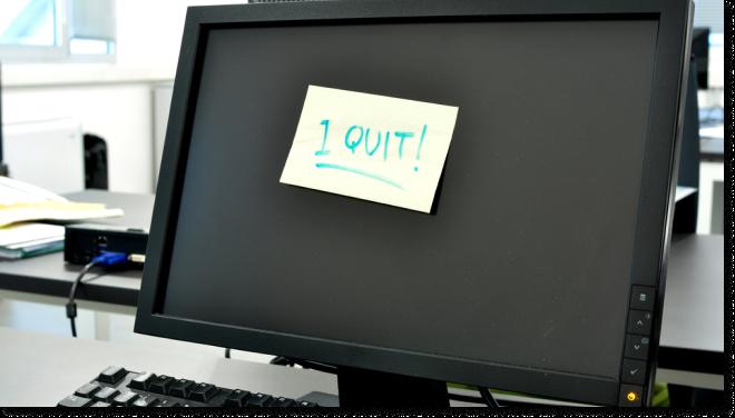 Vasili Decides to Quit His Office Job
