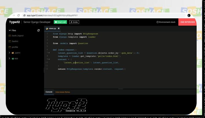 Type12 Sample Screenshot