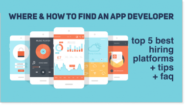 Where & How to Find an App Developer: TOP 5 Places, Tips & FAQs