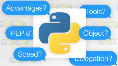 artwork depicting stylized Python Interview Questions