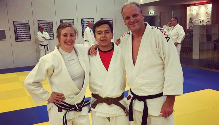 Judo has played a major part in my life