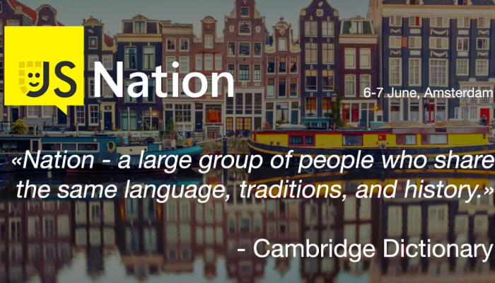 Soshace Becomes an Informational Partner of JS Nation in Amsterdam