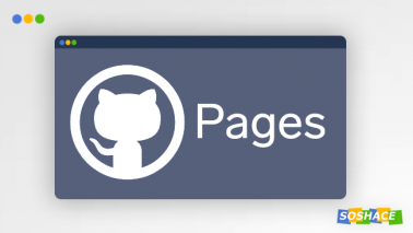 artwork depicting stylized GitHub Pages logo and interface