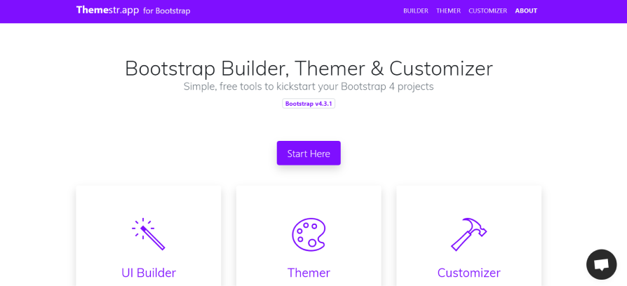 Bootstrap tool # 2 Themestr.app