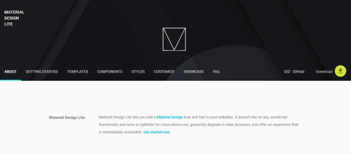 Material Design Lite