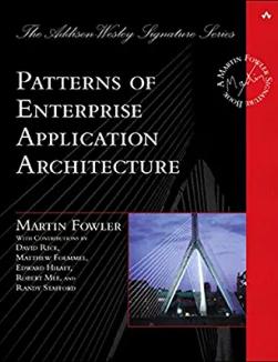 Patterns of Enterprise App Architecture