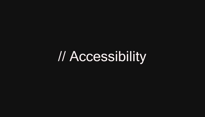 Accessibility Books