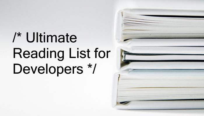 Ultimate Reading List for Developers   40 Web Development Books
