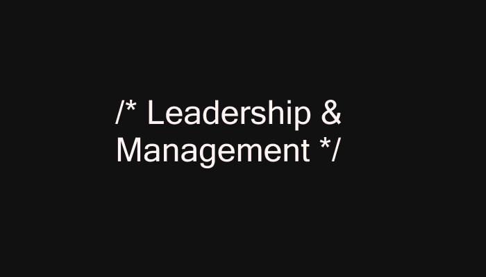 Leadership/Management Books