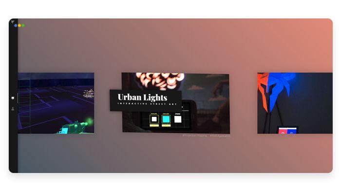 screenshot depicting the portfolio of Robert Fikes