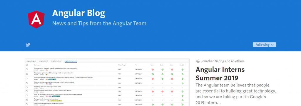 Angular Blog