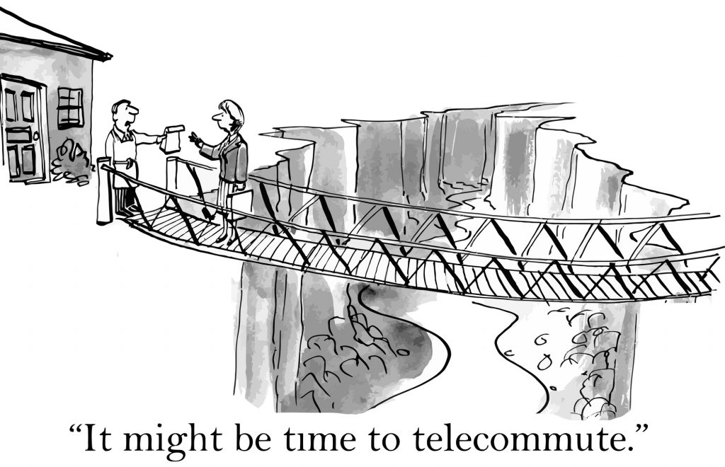 Time to Telecommute!