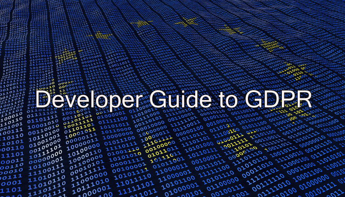 Developer Guide to GDPR