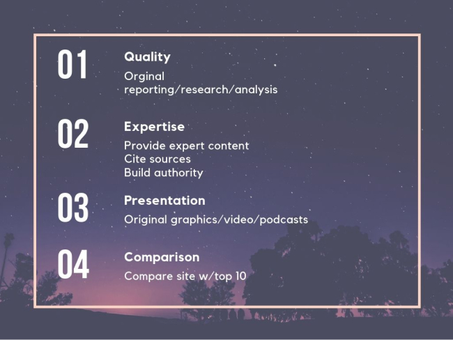 Summary of Core Updates
