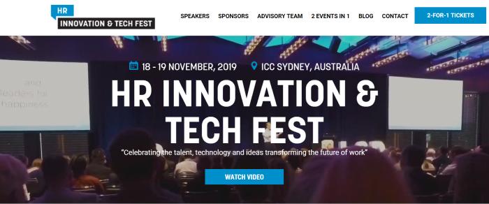 Sydney HR Innovation & Tech Fest