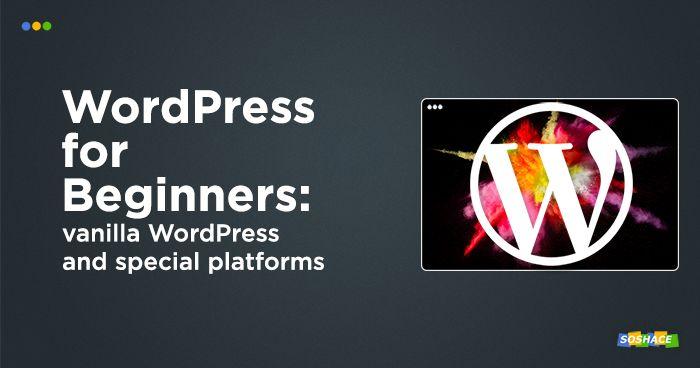 artwork depicting a stylized WordPress logo