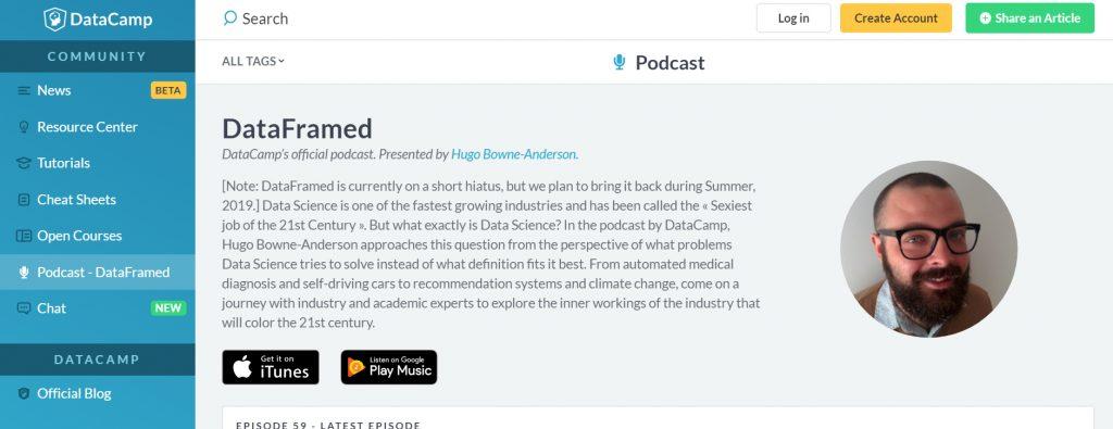 Data Framed Podcast