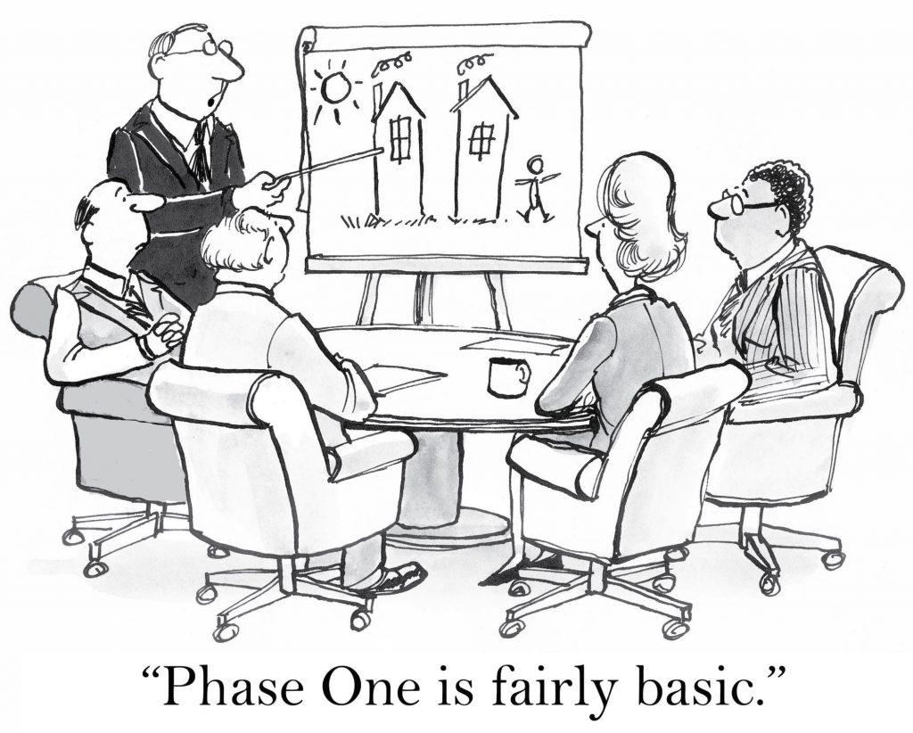 """""""Phase One is fairly basic"""""""
