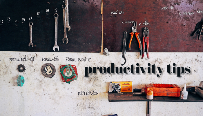 Productivity Tips for Developers