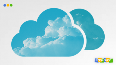 artwork depicting a stylized cloud