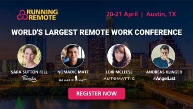 Last Chance to Get Your Running Remote Early-Bird Ticket!