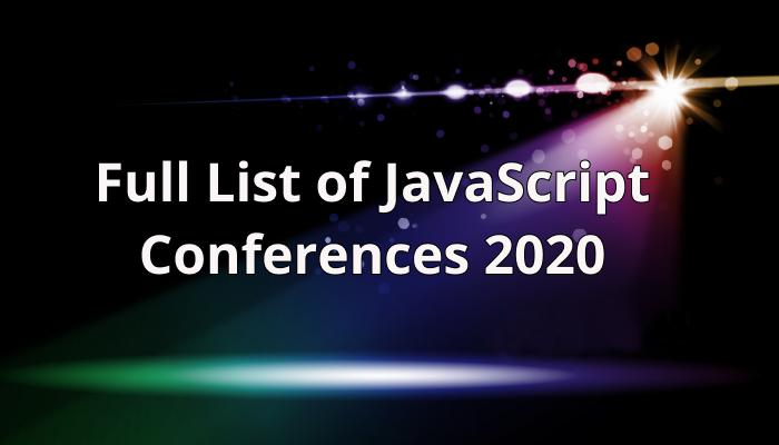 JS Conferences 2020