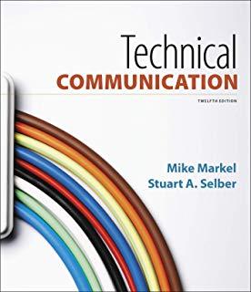 Technical Communication - Mike Markel