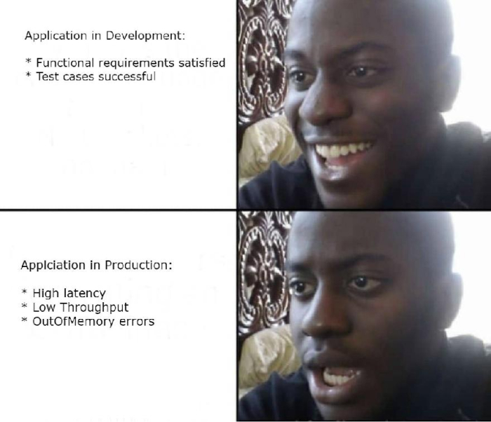 App in Dev and App in Production