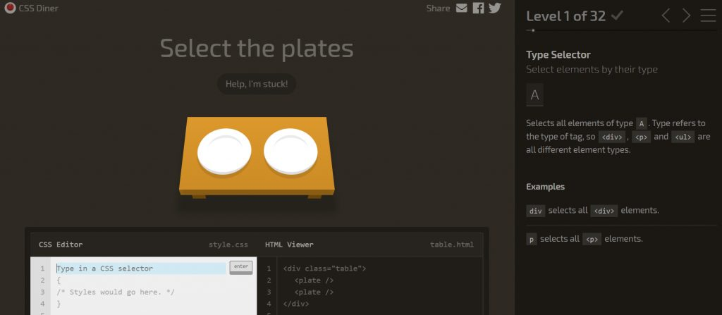CSS Diner