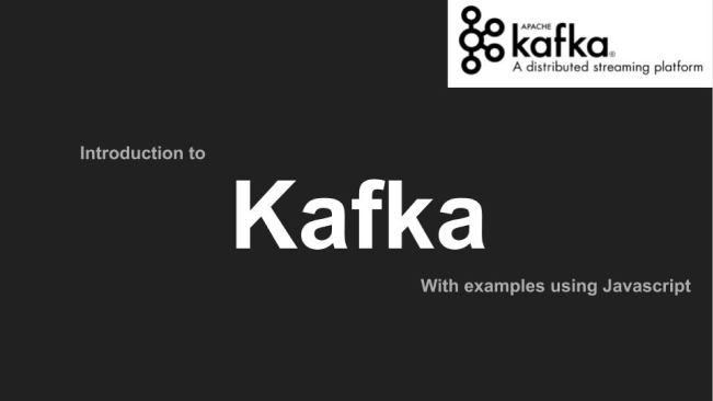 Introduction to Kafka