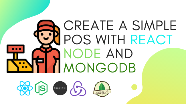 Create a simple POS with React, Node and MongoDB