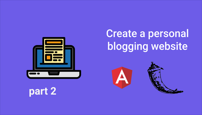 Creating a personal blogging website with Django and Flask