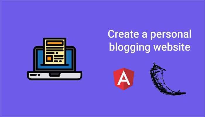 Create a Blog with Angular and Flask