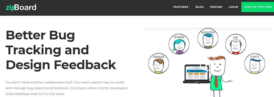 zipBoard (bug tracking & visual feedback tool)