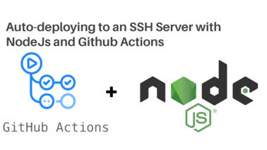 Deploying Your NodeJS Code to a Server Every Time You Push with Github Actions. Thumbnail