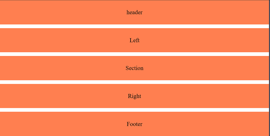 Simple grid template rows