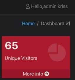 React POS display user name