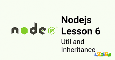 Node.js Lesson 6: Util and Inheritance