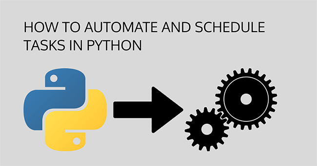 This article Automating the boring Stuff: Scheduling Tasks using Python