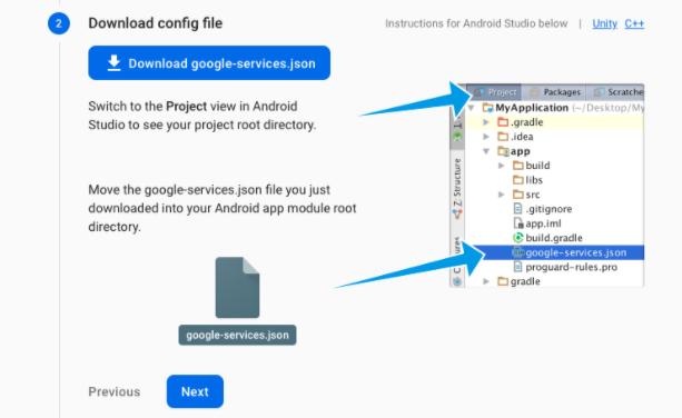 Download Google services