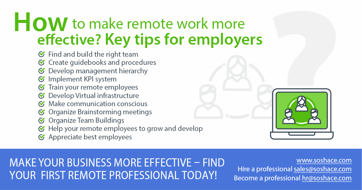 how to make you remote work more effective  key tips for