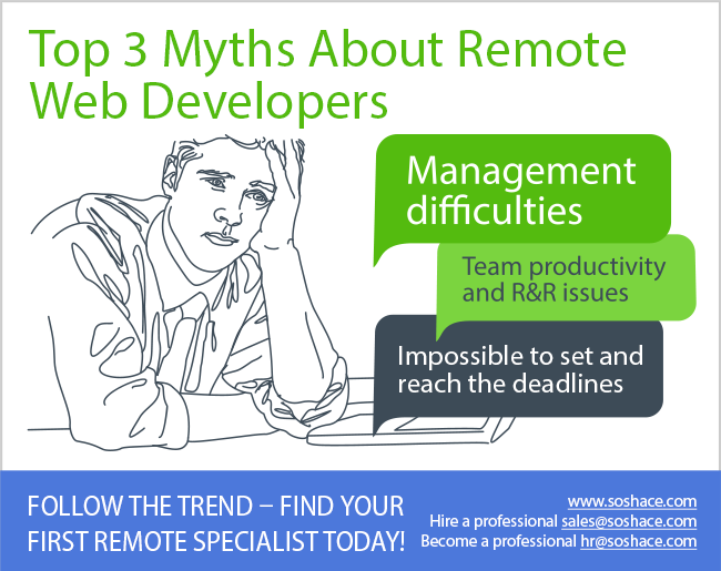 Top 3 myths about remote web developers
